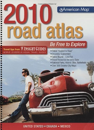us topo - American Map United States Road Atlas 2010 Standard (Road Atlas: United States, Canada, Mexico (Spiral)) (United States Road Atlas Including Canada and Mexico) - Wide World Maps & MORE! - Book - Brand: American Map Company - Wide World Maps & MORE!