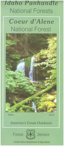 Map: Idaho Panhandle NF - Coeur d`Alene - Wide World Maps & MORE! - Book - Wide World Maps & MORE! - Wide World Maps & MORE!