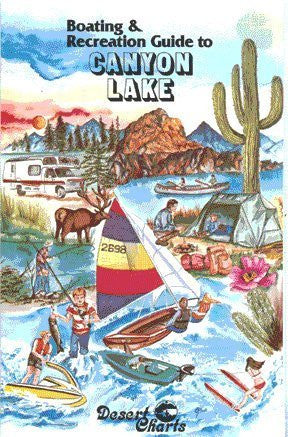 us topo - Boating & Recreation Guide to Canyon Lake - Wide World Maps & MORE! - Book - Wide World Maps & MORE! - Wide World Maps & MORE!