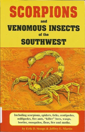 us topo - Scorpions and Venomous Insects of the Southwest - Wide World Maps & MORE! - Book - Brand: Golden West Publishers (AZ) - Wide World Maps & MORE!
