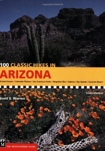 us topo - 100 Classic Hikes in Arizona - Wide World Maps & MORE! - Book - Mountaineers Books - Wide World Maps & MORE!