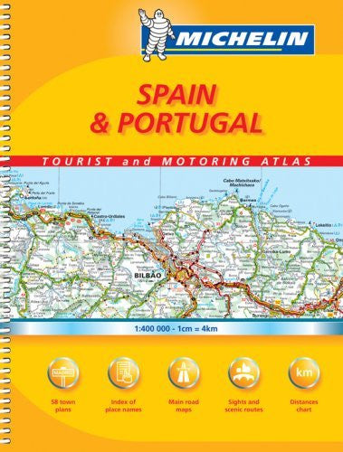 Michelin Spain & Portugal Tourist and Motoring Atlas (Michelin Spain & Portugal Tourist & Motoring Atlas)