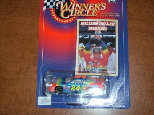 Winner's Circle 1:64 Scale #24 Jeff Gordon DuPont Million Dollar Winner Car - Wide World Maps & MORE! - Toy - Winners Circle - Wide World Maps & MORE!