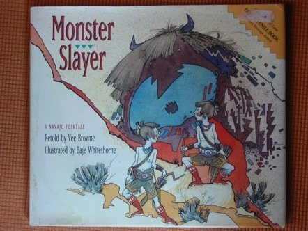 Monster Slayer: A Navajo Folktale - Wide World Maps & MORE! - Book - Brand: Northland Pub - Wide World Maps & MORE!