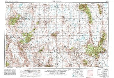us topo - Goldfield, NV - Wide World Maps & MORE! - Book - Wide World Maps & MORE! - Wide World Maps & MORE!