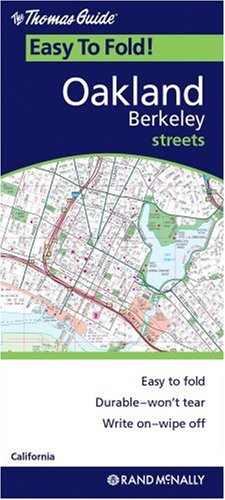 Oakland/Berkeley (Easyfinder Maps) - Wide World Maps & MORE! - Book - Rand McNally - Wide World Maps & MORE!