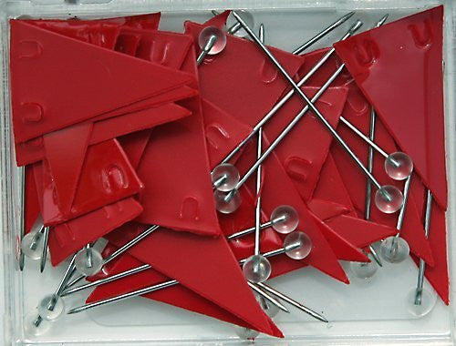 us topo - Moore Red Pennant Map Push Pins - Wide World Maps & MORE! - Office Product - Moore - Wide World Maps & MORE!