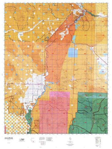 Arizona GMU 43A Hunt Area / Game Management Units (GMU) Map