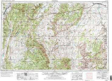 us topo - Salina, UT - Wide World Maps & MORE! - Book - Wide World Maps & MORE! - Wide World Maps & MORE!