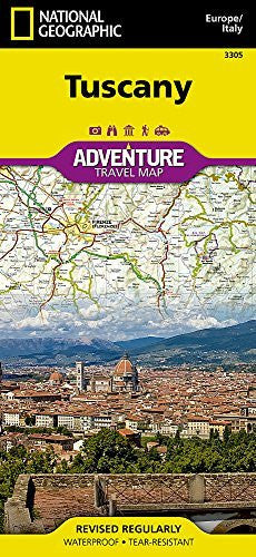 us topo - Tuscany [Italy] (National Geographic Adventure Map) - Wide World Maps & MORE! - Book - Universal Map - Wide World Maps & MORE!
