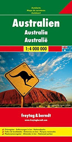 us topo - Australia - Wide World Maps & MORE! - Book - Freytag & Berndt - Wide World Maps & MORE!