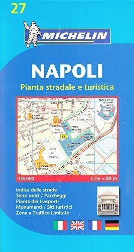 Napoli (Naples) - Michelin City Plans by Michelin (2008-07-07)
