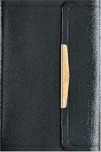 NKJV Smallest Bible, Black with Snap Flap