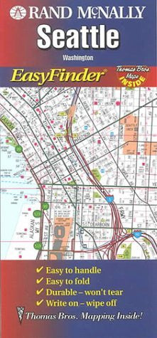 us topo - Rand McNally Seattle, Washington: Easyfinder (Rand McNally Easyfinder) - Wide World Maps & MORE! - Book - Wide World Maps & MORE! - Wide World Maps & MORE!
