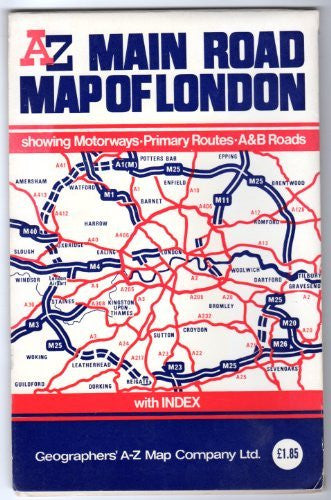 us topo - Main Road Map of London - Wide World Maps & MORE! - Book - Wide World Maps & MORE! - Wide World Maps & MORE!