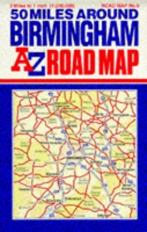 us topo - Fifty Miles Around Birmingham (A-Z 3 Miles to 1 Inch) - Wide World Maps & MORE! - Book - Wide World Maps & MORE! - Wide World Maps & MORE!