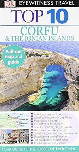 us topo - Corfu & the Ionian Islands (EYEWITNESS TOP 10 TRAVEL GUIDE) - Wide World Maps & MORE! - Book - Brand: DK Travel - Wide World Maps & MORE!