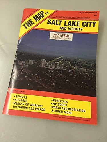 us topo - THE MAP of Salt Lake City and Vicinity - Wide World Maps & MORE! - Book - Wide World Maps & MORE! - Wide World Maps & MORE!