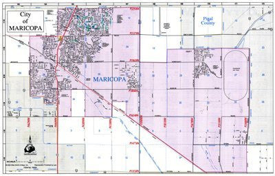 us topo - City of Maricopa Deskmap - Wide World Maps & MORE! - Book - Wide World Maps & MORE! - Wide World Maps & MORE!