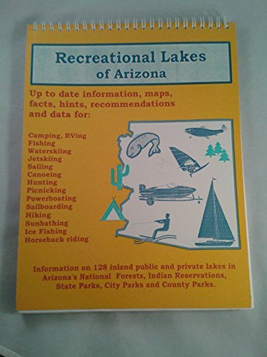 us topo - Recreational Lakes of Arizona - Wide World Maps & MORE! - Book - Brand: Sunflower Sales - Wide World Maps & MORE!