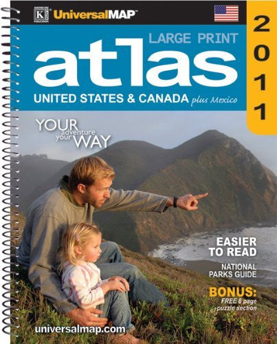 us topo - Large Print North America Atlas - Wide World Maps & MORE! - Book - Wide World Maps & MORE! - Wide World Maps & MORE!