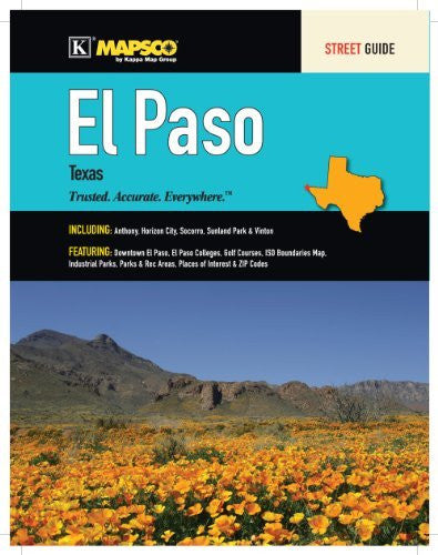 us topo - El Paso, TX Street Guide - Wide World Maps & MORE! - Book - Wide World Maps & MORE! - Wide World Maps & MORE!