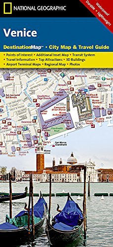 Venice (National Geographic Destination City Map)
