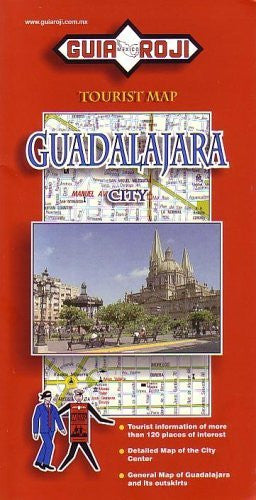 us topo - Guadalajara City Tourist Map - Wide World Maps & MORE! - Book - Wide World Maps & MORE! - Wide World Maps & MORE!