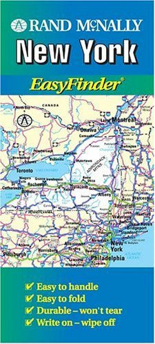 Rand McNally New York Easyfinder Map