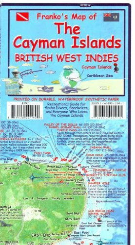 The Cayman Islands ( British West Indies) Franko 2014 - Wide World Maps & MORE! - Book - Wide World Maps & MORE! - Wide World Maps & MORE!