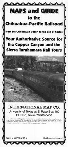 Maps and Guide to the Chihuahua-Pacific Railroad