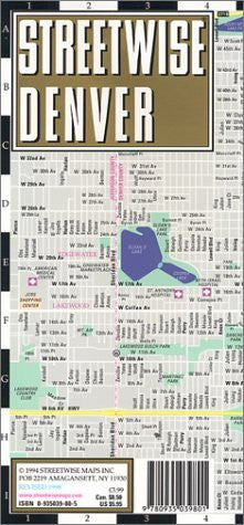 Streetwise Denver - Wide World Maps & MORE! - Book - Wide World Maps & MORE! - Wide World Maps & MORE!