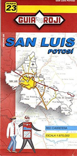 us topo - Estado de San Luis Potosi - Wide World Maps & MORE! - Book - Wide World Maps & MORE! - Wide World Maps & MORE!