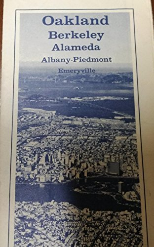Oakland, Berkeley, Alameda, Albany-Piedmont, Emeryville (MAP) - California State Automobile Association - Wide World Maps & MORE! - Book - Wide World Maps & MORE! - Wide World Maps & MORE!
