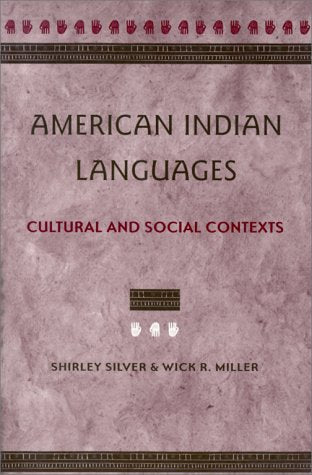 American Indian Languages: Cultural and Social Contexts - Wide World Maps & MORE!