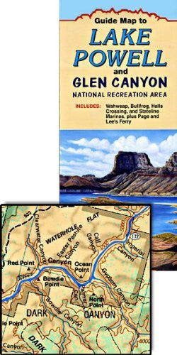 us topo - Guide Map to Lake Powell and Glen Canyon National Recreation Area Paper/Non-Laminated - Wide World Maps & MORE! - Map - North Star Mapping - Wide World Maps & MORE!