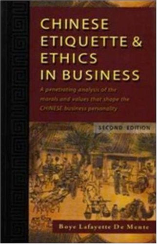 Chinese Etiquette & Ethics in Business