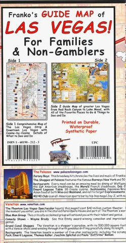 us topo - Franko's Guide Map of Las Vegas for familes and non-gamblers - Wide World Maps & MORE! - Book - Wide World Maps & MORE! - Wide World Maps & MORE!