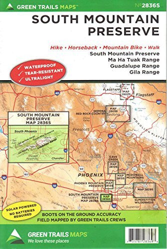 us topo - South Mountain Preserve: Hike, Horseback, Mountain Bike, Walk - Wide World Maps & MORE! - Map - Wide World Maps & MORE! - Wide World Maps & MORE!