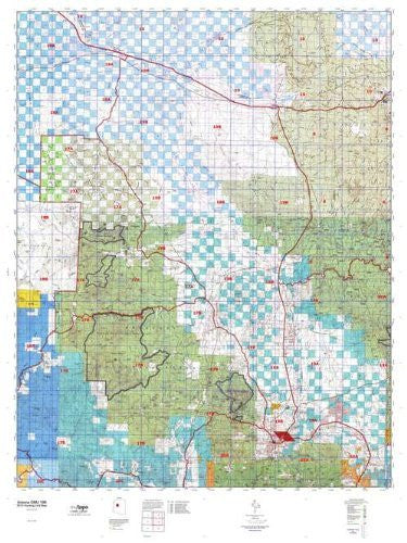 us topo - Arizona GMU 19B Hunt Area / Game Management Units (GMU) Map - Wide World Maps & MORE! - Book - Wide World Maps & MORE! - Wide World Maps & MORE!