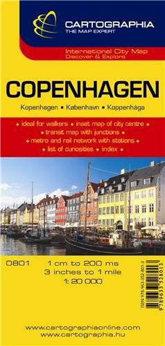 Copenhagen (Michelin City Plans) (English, French and German Edition)