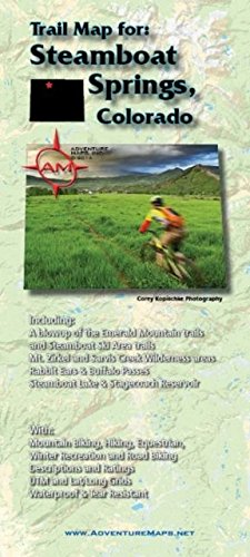 Adventure Maps Steamboat Springs Colorado - Wide World Maps & MORE! - Map - Adventure Maps - Wide World Maps & MORE!
