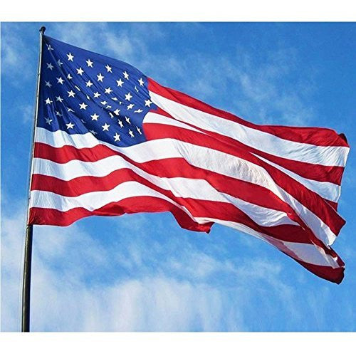 3x5 USA Flag Super-Polyester Brass Grommets Canvas Header American Flag