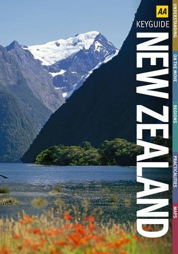 us topo - New Zealand (AA Key Guides) - Wide World Maps & MORE! - Book - Wide World Maps & MORE! - Wide World Maps & MORE!