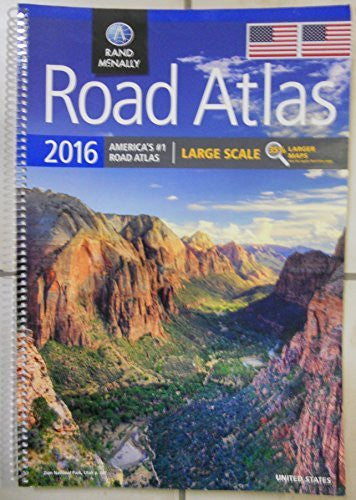 Road Atlas 2016 Large Scale