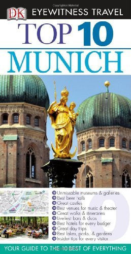 us topo - Top 10 Munich (Eyewitness Top 10 Travel Guides) - Wide World Maps & MORE! - Book - Brand: DK Travel - Wide World Maps & MORE!