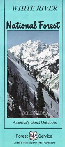us topo - White River National Forest, Colorado (SuDoc A 13.28:W 58/11) - Wide World Maps & MORE! - Book - Wide World Maps & MORE! - Wide World Maps & MORE!