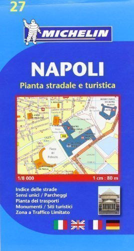 Napoli (Naples) - Michelin City Plans: Localkarte 1st (first) Edition by Michelin published by Michelin (2008)
