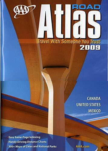 AAA Road Atlas 2009 (AAA North American Road Atlas)