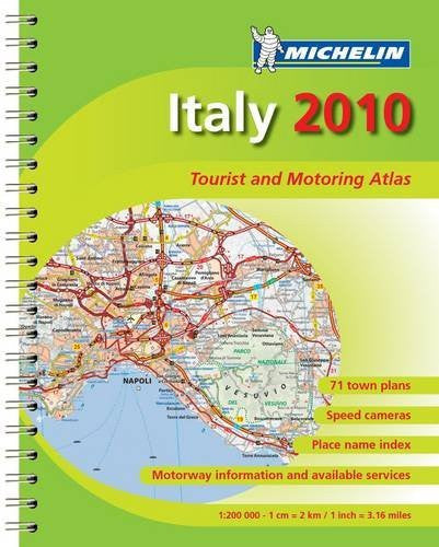 MOT Atlas Italy 2010 (Michelin Tourist and Motoring Atlases) (English, Italian and Italian Edition)